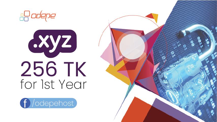 .xyz Domain offer