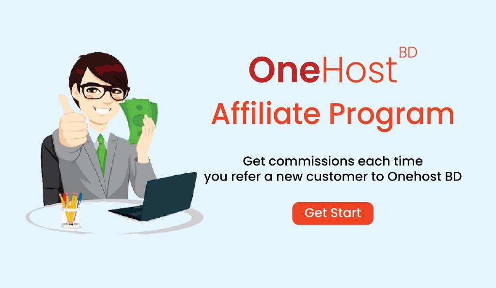 OneHost BD Affiliate Program